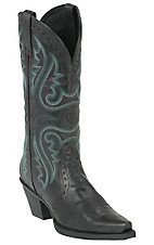Ariat Ladies Black Heritage X-Toe Western Boot