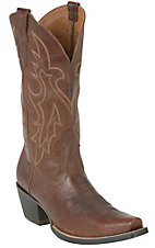 Ariat® Heritage Western D-Toe™ Men's Wood Brown Western Boots