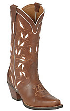 Ariat Ladies Bitterwater Brown Sonora Western Fashion Sniptoe Boot