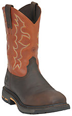 Ariat Men's Earth w/ Brick Top Workhog Square Steel Toe Work Boot