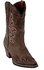 Ariat Wichita Ladies Sassy Brown Wingtip Snip Toe Western Boots