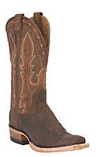 Ariat Hotwire Men's Weathered Brown Dual Pro DW Punchy Square Toe Western Boots