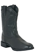 Ariat Heritage Men's Black Onyx Dress Roper Boots