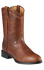 Ariat® Heritage™ Men's Mission Brown Roper Boots