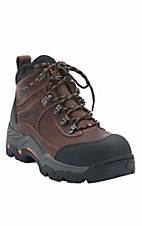 Ariat Men's Aged Bark Workhog Trek H2O Composite Toe 5in Lace Up Work Boo
