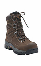 Ariat Men's Oiled Brown Workhog Trek H2O Composite Toe 8in Lace Up Work Boot
