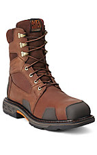 Ariat Overdrive XTR Men's Aged Bark 8in Lace-Up Composite Square Toe Workboot