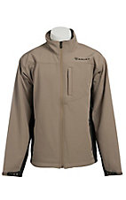 Ariat Men's Vernon Fossil Bonded Softshell Jacket
