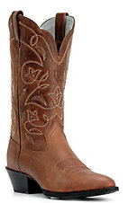 Ariat Ladies Russet Heritage R-Toe Western Boots