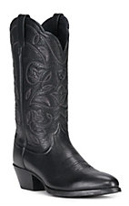 Ariat® Ladies Heritage Black R-Toe Western Boots