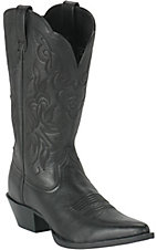 Ariat Ladies Black Deertan Heritage Western Boots