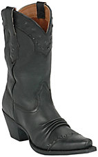 Ariat® Ladies Black Deertan Dixie Western Boots