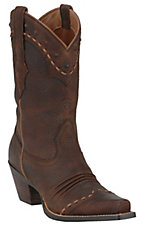 Ariat® Ladies Brown Oiled Rowdy Dixie Western Boots