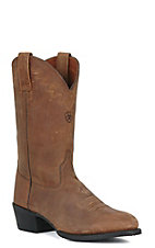 Ariat® Sedona™ Men's Distressed Brown R-Toe Western Boots