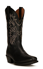 Ariat® Legend™ Men's Black Deertan Square Toe Western Boot