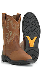 Ariat® Sierra™Saddle Work Western Boot - Aged Bark