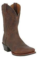 Ariat Legend Phoenix Men's Toasty Brown Punchy Square Toe Western Boot