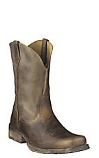 Ariat® Rambler™ Men's Brown Bomber Wide Square Toe Western Boots