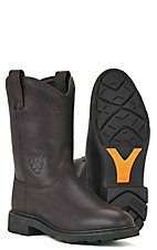 Ariat® Mens Sierra Slip-on Workboots - Black