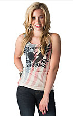 Afflicition Women's American Heart Breaker Tank