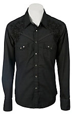 Rock & Roll Cowboy Men's L/S Western Snap Shirt B2S1375