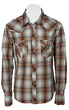 Rock & Roll Cowboy Men's L/S Western Snap Shirt B2S2254