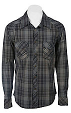 Rock & Roll Cowboy Men's L/S Western Snap Shirt B2S2264