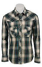 Rock & Roll Cowboy Men's L/S Western Snap Shirt  B2S2265