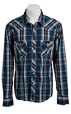 Rock & Roll Cowboy Men's L/S Western Snap Shirt B2S3436