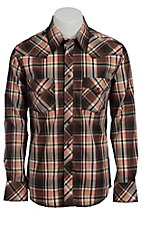 Rock & Roll Cowboy Men's L/S Western Snap Shirt B2S3445