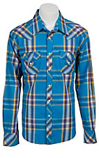 Rock & Roll Cowboy Men's L/S Western Snap Shirt B2S3447