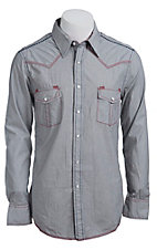 Rock & Roll Cowboy Men?s L/S Western Snap Shirt B2S5103