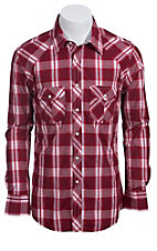 Rock & Roll Cowboy Men?s L/S Western Snap Shirt B2S5104