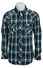 Rock & Roll Cowboy Men?s L/S Western Snap Shirt B2S5112
