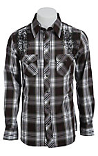 Rock & Roll Cowboy Men?s L/S Western Snap Shirt B2S6454
