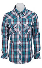 Rock & Roll Cowboy Men?s L/S Western Snap Shirt B2S6458