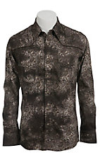 Rock & Roll Cowboy Men's L/S Western Snap Shirt B2S7207