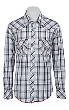 Rock & Roll Cowboy Mens L/S Western Snap Shirt B2S7216