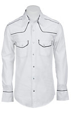 Rock & Roll Cowboy Men?s L/S Western Snap Shirt B2S7220