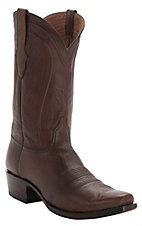 Black Jack Men's Burnished Brown Ranch Hand/Cord V-Toe Western Boots