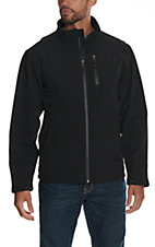 Larry Mahan Men's Black Softshell Jacket