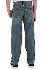 Wrangler Retro® Dirty Blue Straight Leg Boys Jean