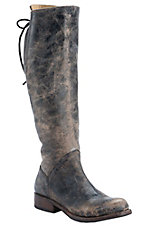 Bed|Stu Women's Black Lux Manchester Round Toe Fashion Riding Boot