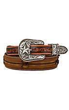 Justin® Mens Fenced In Western Belt C11637