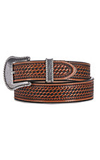 Justin Mens Bronco Western Belt C12264