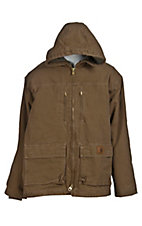 Carhartt® Men's Frontier Brown Sandstone Jackson Sherpa Lined Coat