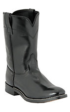 Cavenders Men's Black Roper Boots