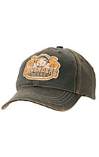 Cavenders® Skull Oiled Brown Cap