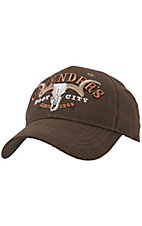 Cavenders® Brown Plaid 3D Logo Cap
