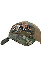 Cavenders® Green Digital Camo with Tan Mesh Trucker Cap
